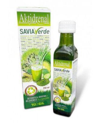 aktidrenal, savia verde, desintoxica, oxigena y rejunevece el organismo