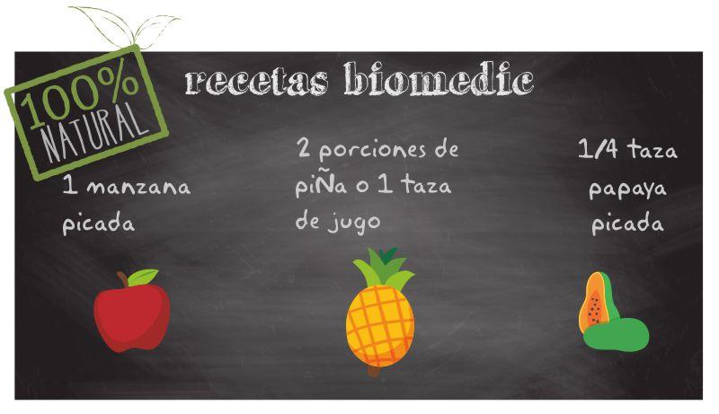 Recetas saludables, zumo digestivo, dieta sana, biomedic clinica oncologica